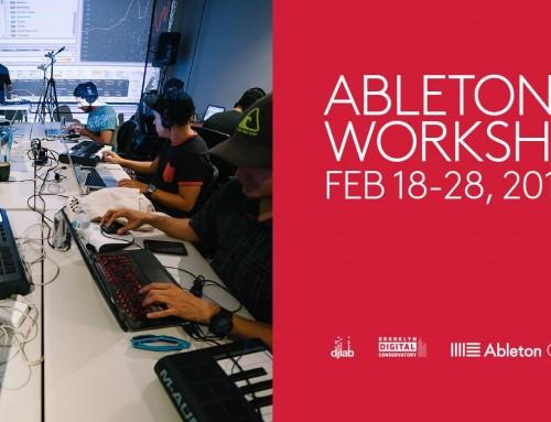 Upcoming Workshops – 2017